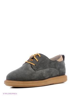 Туфли TAPiBOO. Цвет: серый