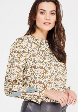 Рубашка Katya Erokhina. Цвет: разноцветный