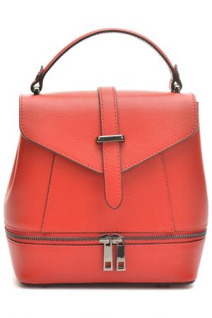 Backpack ANNA LUCHINI. Цвет: red