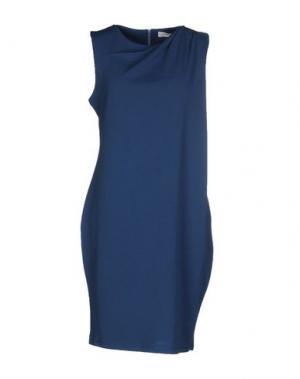 Короткое платье ALFONSO RAY. Цвет: грифельно-синий