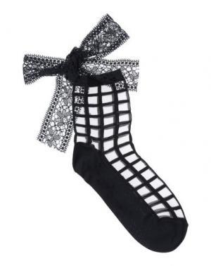 Короткие носки PIERRE MANTOUX. Цвет: черный