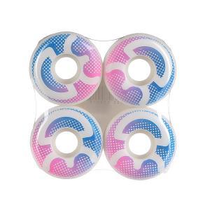Колеса для скейтборда  Logo Dots 53mm 3D. Цвет: розовый,белый,голубой
