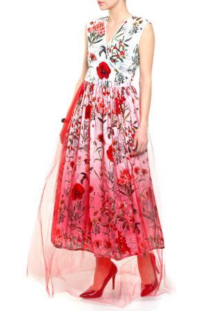 Платье PRIVATE SUN. Цвет: красный