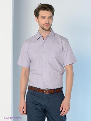 Рубашка Maestro. Цвет: сиреневый, серый