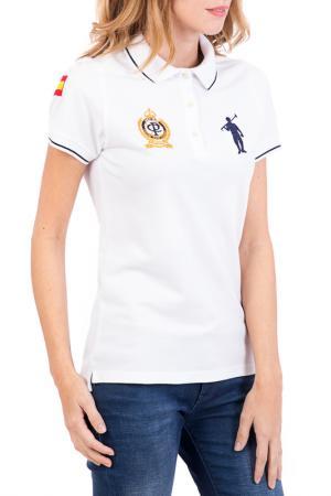 Поло POLO CLUB С.H.A.. Цвет: белый