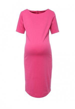Платье MammySize. Цвет: розовый