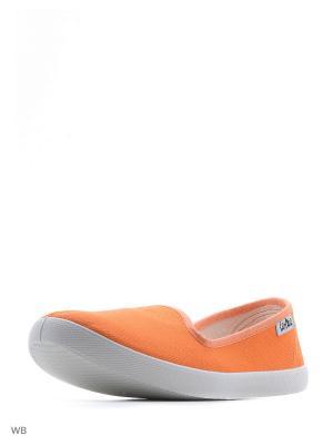 Слипоны ANRA. Цвет: оранжевый
