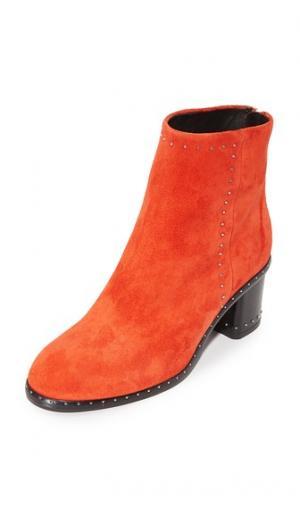 Ботинки Willow с заклепками Rag & Bone. Цвет: красный