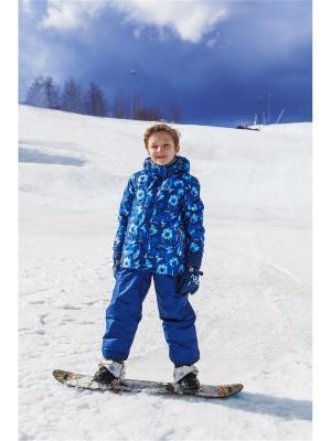 Комплект (куртка+полукомбинезон) REIKE. Цвет: синий