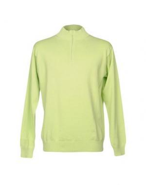 Водолазки KEN BARRELL. Цвет: кислотно-зеленый