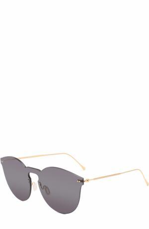 Солнцезащитные очки Illesteva. Цвет: черный
