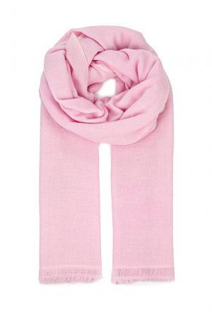 Кашемировый палантин BT-186072 Zaroo Cashmere. Цвет: розовый