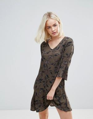 B.Young Платье-туника. Цвет: мульти