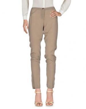 Повседневные брюки GOTHA. Цвет: песочный