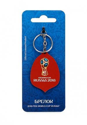 Брелок 2018 FIFA World Cup Russia™. Цвет: бордовый
