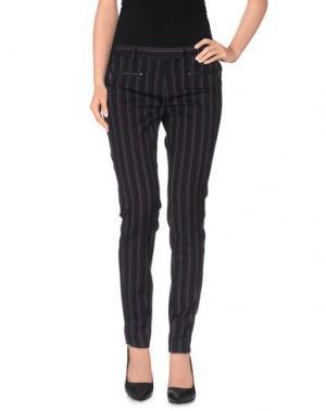 Повседневные брюки TRUE ROYAL. Цвет: фиолетовый
