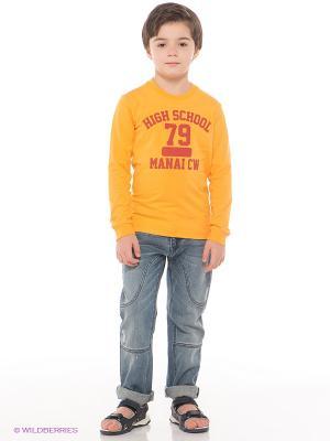 Джинсы MANAI. Цвет: оранжевый