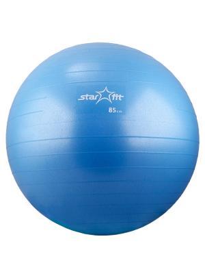 Мяч гимнастический STAR FIT GB-102 85 см, с насосом, синий (антивзрыв) Starfit. Цвет: синий
