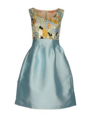 Платье до колена MACRÍ. Цвет: небесно-голубой