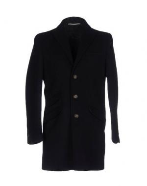Пальто EXIBIT. Цвет: темно-синий