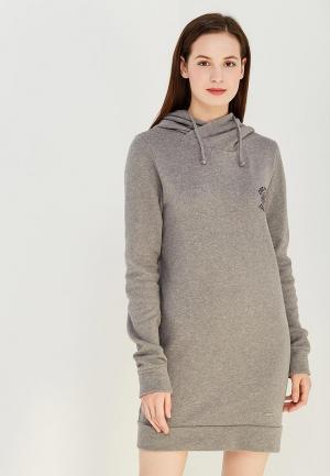 Платье Billabong. Цвет: серый