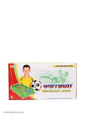 Настольный футбол Играем вместе. Цвет: зеленый (осн.)