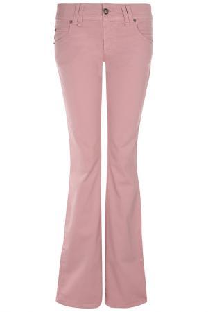 Брюки Galliano. Цвет: розовый