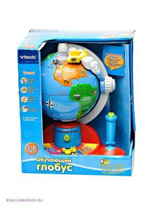 Обучающий глобус Vtech. Цвет: синий, зеленый, желтый