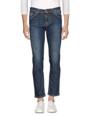 Джинсовые брюки NICWAVE. Цвет: синий