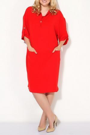 Платье Ludomara fashion. Цвет: красный