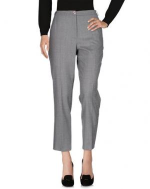 Повседневные брюки GIORGIO GRATI. Цвет: светло-серый