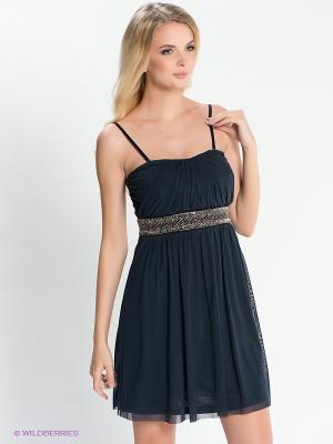 Платье EASY WEAR. Цвет: темно-синий