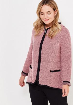 Кардиган Milana Style. Цвет: розовый