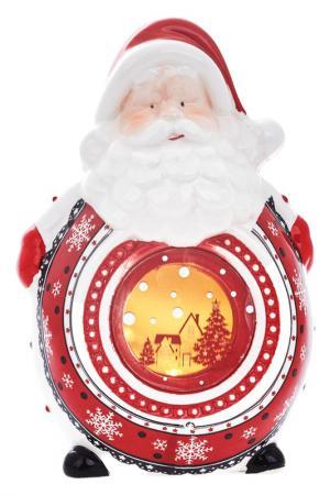 Скульптура-ночник DUE ESSE CHRISTMAS. Цвет: красный, белый