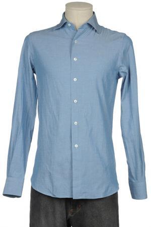 Рубашка VINTAGE 55. Цвет: синий