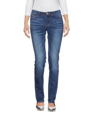 Джинсовые брюки SUN 68. Цвет: синий