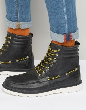 Rock & Religion Ботинки со шнуровкой. Цвет: черный