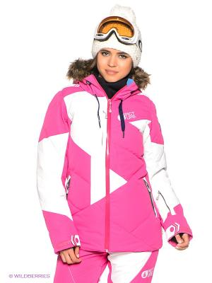 Куртка Picture Organic. Цвет: фуксия, белый