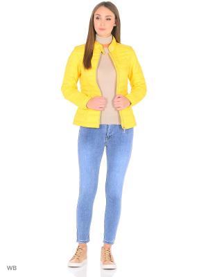 Куртка TOM TAILOR. Цвет: желтый