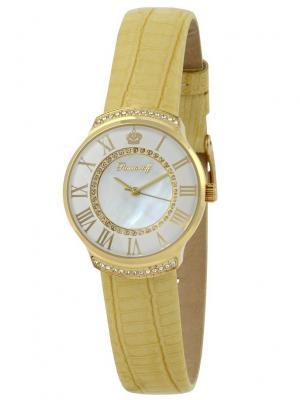 Часы наручные Romanoff. Цвет: светло-желтый, белый, золотистый