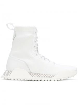 Сапоги  Originals AF 1.3 Primeknit Adidas. Цвет: белый
