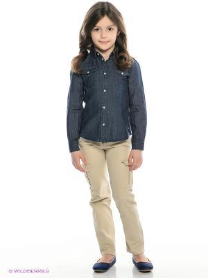 Рубашка MANAI. Цвет: темно-синий