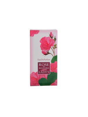 Духи женские Rose of Bulgaria 50 мл. Biofresh. Цвет: бледно-розовый