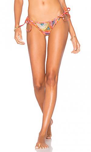 Side tie bikini bottom AGUADECOCO. Цвет: розовый