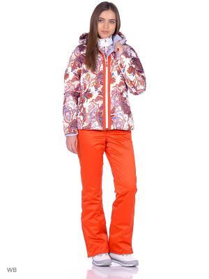 Куртка Stayer. Цвет: бордовый, красный, оранжевый, белый