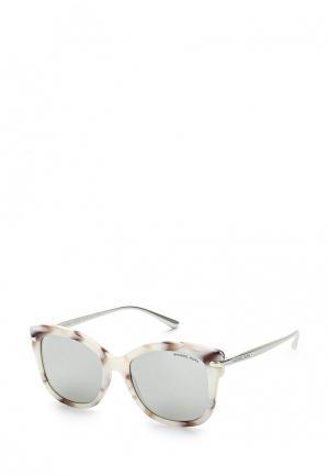 Очки солнцезащитные Michael Kors. Цвет: белый