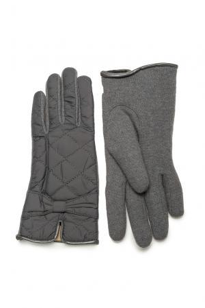 Перчатки из шерсти 173767 Moltini. Цвет: серый