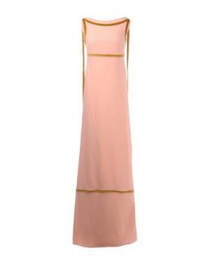Длинное платье DSQUARED2. Цвет: розовый