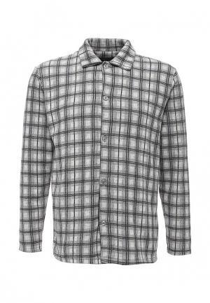 Рубашка домашняя Massimiliano Bini. Цвет: серый
