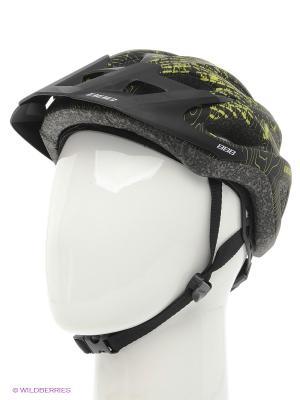Шлем BBB. Цвет: черный, зеленый